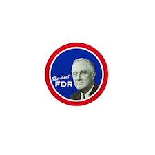 FDR - Mini Campaign Button (10 pack)