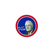 FDR - Mini Vintage Campaign Button