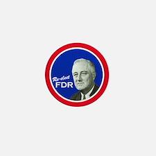 FDR - Mini Vintage Campaign Button