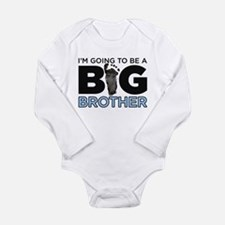 Im Going To Be A Big Brother Long Sleeve Infant Bo