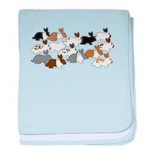 Many Bunnies baby blanket