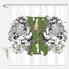 Vegan Lions Shower Curtain