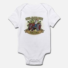 Still Plays with Red Tractors Infant Bodysuit