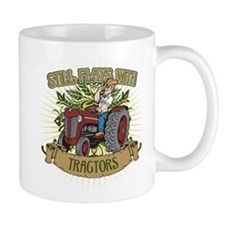 Still Plays with Red Tractors Small Mug