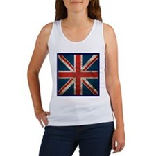 UK British English Union Jack Women's Tank Top