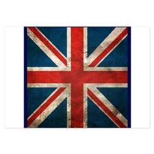 UK British English Union Jack Invitations