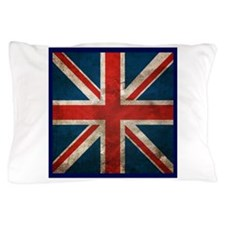 UK British English Union Jack Pillow Case