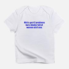 Binder Women Against Mitt Infant T-Shirt