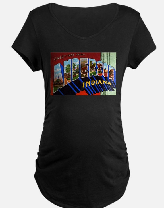 Anderson Indiana Greetings T-Shirt