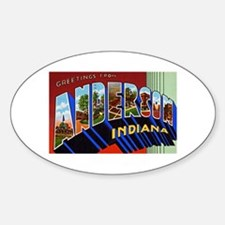 Anderson Indiana Greetings Decal