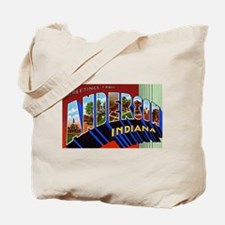 Anderson Indiana Greetings Tote Bag