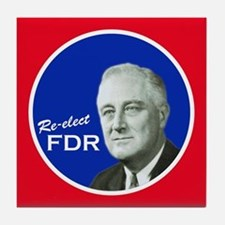FDR - Tile Coaster