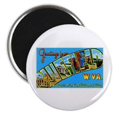 Bluefield West Virginia Greetings Magnet