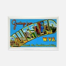 Bluefield West Virginia Greetings Rectangle Magnet