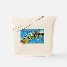 Bluefield West Virginia Greetings Tote Bag