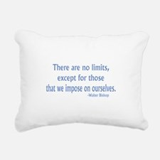 Fringe Walter Quote - No Limits Rectangular Canvas
