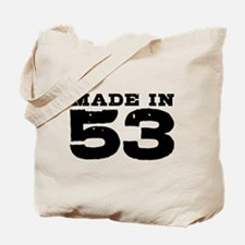 Made in 53 Tote Bag