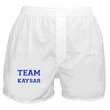 Team Kaysar Blue Boxer Shorts
