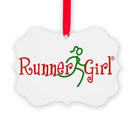 RunnerGirl's Red & Green Ornament
