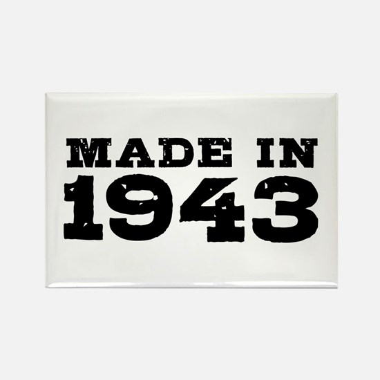 Made in 1943 Rectangle Magnet