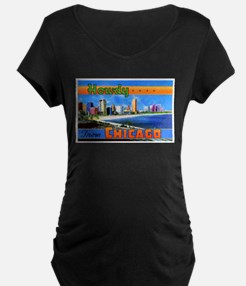 Chicago Illinois Greetings T-Shirt