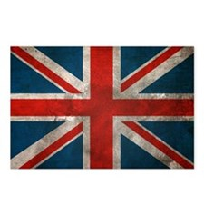 British Union Jack Postcards (Package of 8)