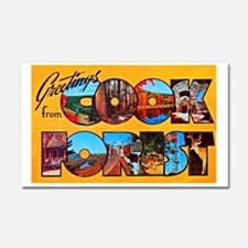 Cook Forest Greetings Car Magnet 20 x 12