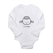 """L is for Lamb"" Body Suit"