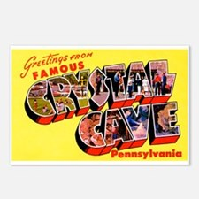 Crystal Cave Pennsylvania Greetings Postcards (Pac