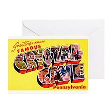 Crystal Cave Pennsylvania Greetings Greeting Cards