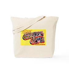 Crystal Cave Pennsylvania Greetings Tote Bag