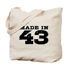 Made in 43 Tote Bag