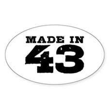 Made in 43 Decal