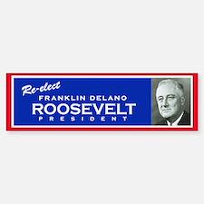FDR - Vintage Campaign bumpersticker