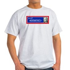 FDR - Ash Grey T-Shirt