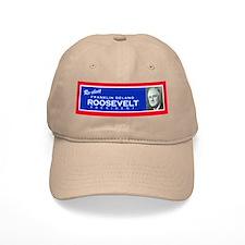 FDR - Retro Baseball Cap Khaki