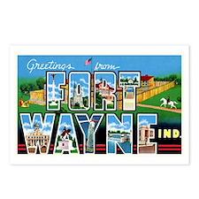 Fort Wayne Indiana Greetings Postcards (Package of