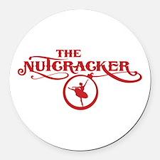 Cute Nutcracker Round Car Magnet