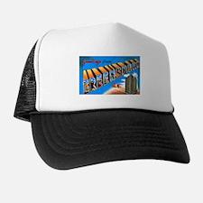 Greensboro North Carolina Greetings Trucker Hat