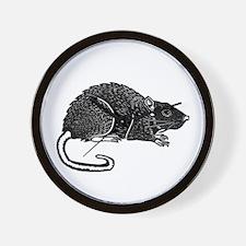 Rat Products Wall Clock