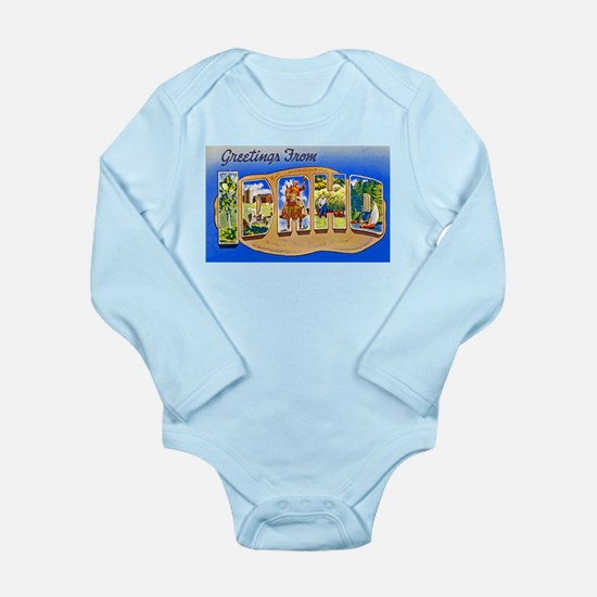Idaho Greetings Long Sleeve Infant Bodysuit