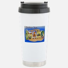 Idaho Greetings Stainless Steel Travel Mug