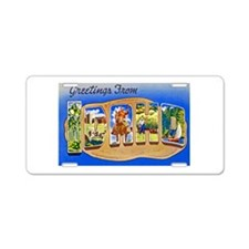 Idaho Greetings Aluminum License Plate