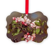 Branch of Apple Blossoms Ornament