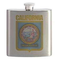 California (Gold Label).png Flask