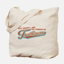 The Pursuit of Truthiness Tote Bag