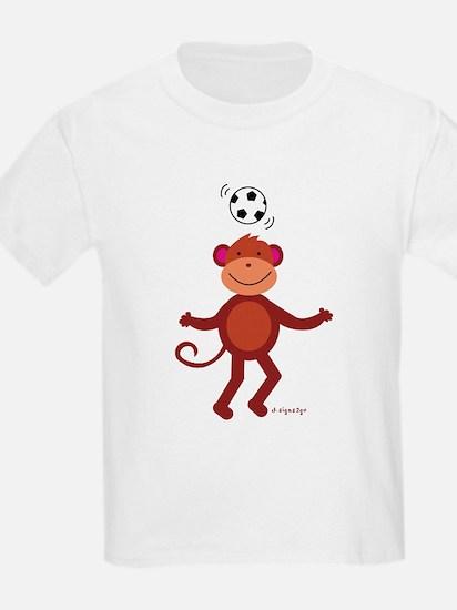 Monkey T-Shirts - Monkey Soccer