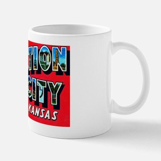 Junction City Kansas Greetings Mug