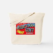 Junction City Kansas Greetings Tote Bag