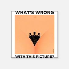 """Reprodutive Rights Square Sticker 3"""" x 3"""""""
